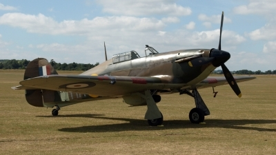 Photo ID 66613 by Claire Williamson. Private Private Hawker Hurricane XII, G HURI
