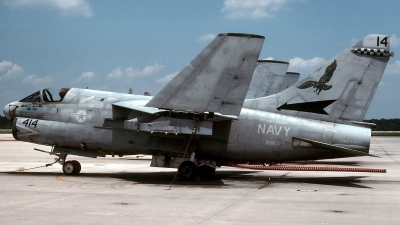 Photo ID 66312 by David F. Brown. USA Navy LTV Aerospace A 7E Corsair II, 160872