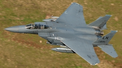 Photo ID 66354 by Paul Massey. USA Air Force McDonnell Douglas F 15E Strike Eagle, 91 0605
