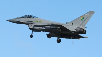Photo ID 66481 by Mike Griffiths. UK Air Force Eurofighter EF 2000 Typhoon FGR4, ZJ928