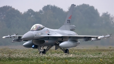 Photo ID 66840 by Rainer Mueller. Norway Air Force General Dynamics F 16AM Fighting Falcon, 276