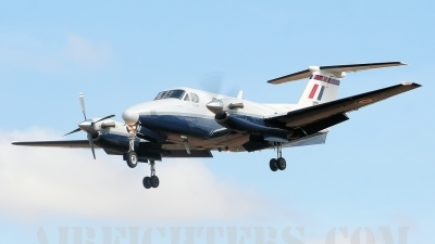 Photo ID 8359 by lee blake. UK Air Force Beech Super King Air B200, ZK454