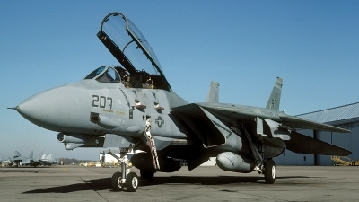 Photo ID 66967 by David F. Brown. USA Navy Grumman F 14A Tomcat, 159610