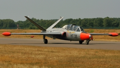 Photo ID 67269 by Guido Haesevoets. Belgium Air Force Fouga CM 170R Magister, MT 35