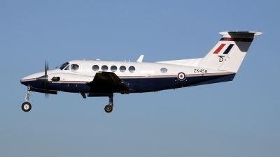 Photo ID 67318 by John Higgins. UK Air Force Beech super King Air B200 GT, ZK458