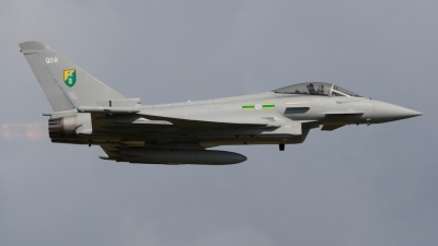 Photo ID 67535 by Sander Meijering. UK Air Force Eurofighter EF 2000 Typhoon F2, ZJ925