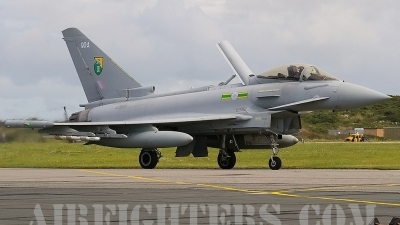 Photo ID 8444 by Peter Reoch. UK Air Force Eurofighter EF 2000 Typhoon F2, ZJ929