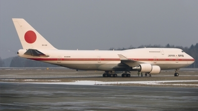 Photo ID 8448 by Tom Gibbons. Japan Air Force Boeing 747 47C, 20 1102