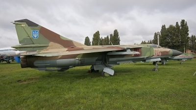 Photo ID 67532 by Jörg Pfeifer. Ukraine Air Force Mikoyan Gurevich MiG 23ML,
