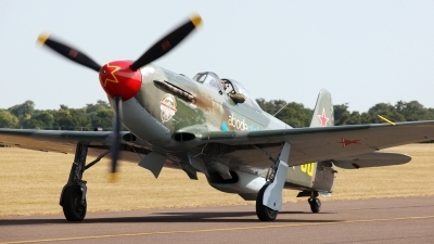 Photo ID 67665 by Claire Williamson. Private Private Yakovlev Yak 9UM, RA 3587K