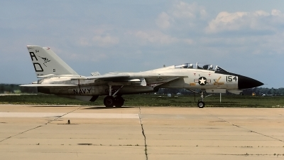 Photo ID 67583 by David F. Brown. USA Navy Grumman F 14A Tomcat, 161860