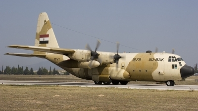 Photo ID 850 by Tony Osborne - Opensky Imagery. Egypt Air Force Lockheed C 130H Hercules L 382, 1279