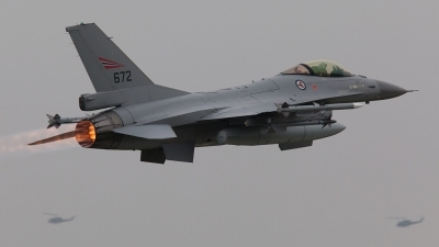 Photo ID 68132 by Tom Sunley. Norway Air Force General Dynamics F 16AM Fighting Falcon, 672