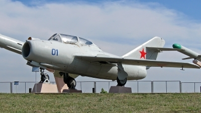 Photo ID 67852 by Andriy Pilschykov. Russia Air Force Mikoyan Gurevich MiG 15UTI, 01 BLUE
