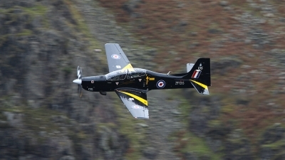Photo ID 68095 by Barry Swann. UK Air Force Short Tucano T1, ZF135