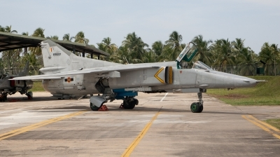Photo ID 68222 by Frank Noort. Sri Lanka Air Force Mikoyan Gurevich MiG 27M Flogger, SFS 5307