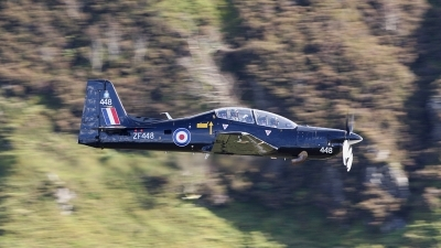 Photo ID 68682 by Barry Swann. UK Air Force Short Tucano T1, ZF448