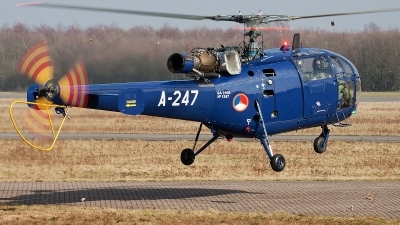 Photo ID 68346 by Alex van Noye. Netherlands Air Force Aerospatiale SA 316B Alouette III, A 247