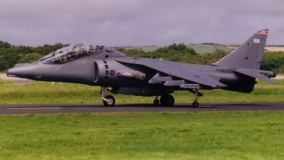 Photo ID 68381 by John Higgins. UK Air Force British Aerospace Harrier T10, ZH658