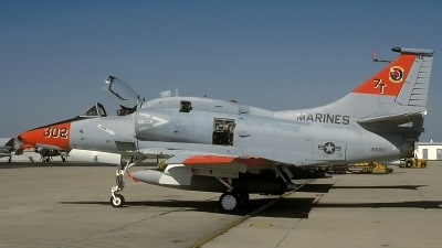 Photo ID 68421 by David F. Brown. USA Marines McDonnell Douglas A 4M Skyhawk, 158180