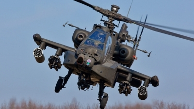 Photo ID 68566 by Tom Sunley. Netherlands Air Force Boeing AH 64D Apache, Q 05