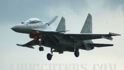 Photo ID 8584 by Chris Milne. India Air Force Sukhoi Su 30MKI Flanker, SB042