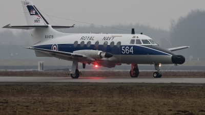 Photo ID 68721 by Alex van Noye. UK Navy Scottish Aviation HP 137 Jetstream T2, XX478