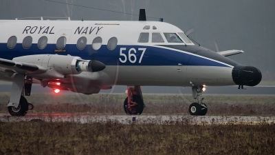 Photo ID 68807 by Alex van Noye. UK Navy Scottish Aviation HP 137 Jetstream T2, XX486