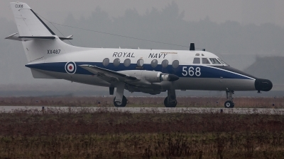 Photo ID 68719 by Alex van Noye. UK Navy Scottish Aviation HP 137 Jetstream T2, XX487