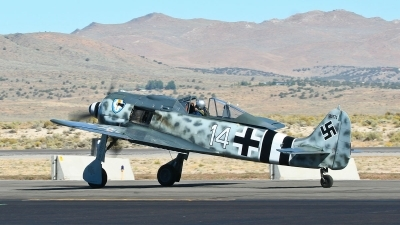 Photo ID 69132 by Steve Burke. Private Planes of Fame Air Museum Focke Wulf FW 190A 9, N190RF