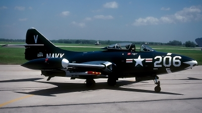 Photo ID 69124 by David F. Brown. Private Private Grumman F9F 2 Panther, 123072