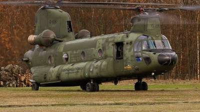 Photo ID 69206 by Alex van Noye. Netherlands Air Force Boeing Vertol CH 47D Chinook, D 106