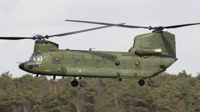 Photo ID 69265 by Johan Havelaar. Netherlands Air Force Boeing Vertol CH 47D Chinook, D 661