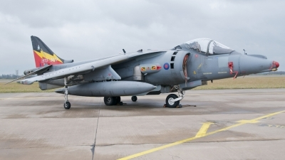 Photo ID 69364 by Stuart Skelton. UK Air Force British Aerospace Harrier GR9, ZG858