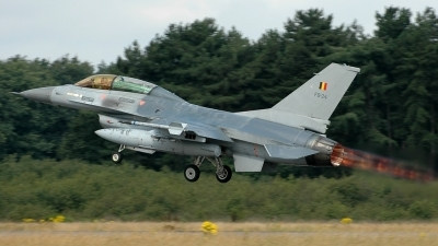 Photo ID 69529 by Radim Spalek. Belgium Air Force General Dynamics F 16BM Fighting Falcon, FB 24
