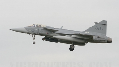 Photo ID 8731 by lee blake. Sweden Air Force Saab JAS 39C Gripen, 39263