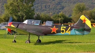 Photo ID 69887 by Martin Thoeni - Powerplanes. Private Private Yakovlev Yak 18A, HB RCX