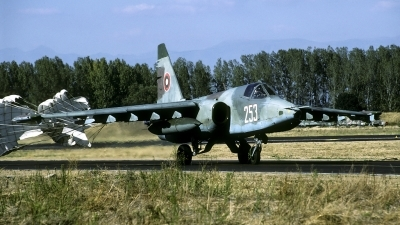 Photo ID 69662 by Joop de Groot. Bulgaria Air Force Sukhoi Su 25K, 253