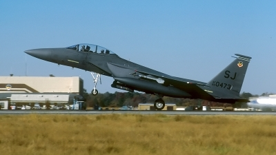 Photo ID 69742 by David F. Brown. USA Air Force McDonnell Douglas F 15E Strike Eagle, 89 0473