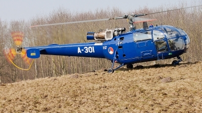 Photo ID 70134 by Alex van Noye. Netherlands Air Force Sud Aviation SE 3160 Alouette III, A 301