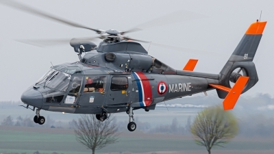 Photo ID 70320 by Alex van Noye. France Navy Aerospatiale SA 365N Dauphin 2, 81