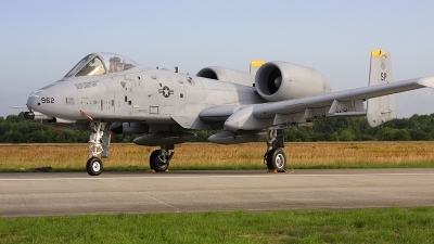 Photo ID 70435 by Robin Coenders / VORTEX-images. USA Air Force Fairchild A 10A Thunderbolt II, 81 0962
