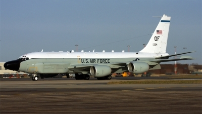 Photo ID 70578 by PAUL CALLAGHAN. USA Air Force Boeing RC 135W 717 158, 62 4134