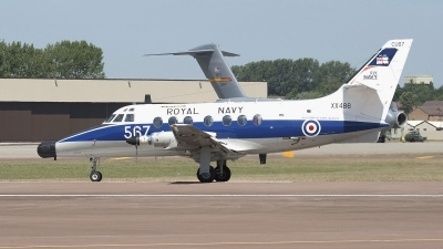 Photo ID 71555 by Niels Roman / VORTEX-images. UK Navy Scottish Aviation HP 137 Jetstream T2, XX486