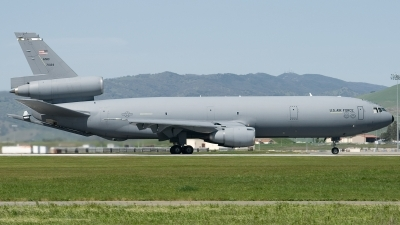 Photo ID 70757 by Jaysen F. Snow - Midwest Tail Chasers. USA Air Force McDonnell Douglas KC 10A Extender DC 10 30CF, 87 0123