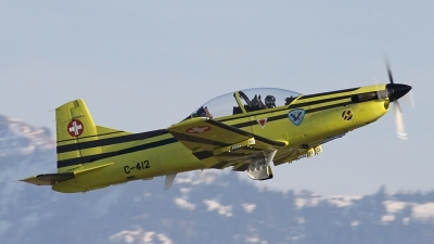 Photo ID 71063 by Andreas Weber. Switzerland Air Force Pilatus PC 9A, C 412