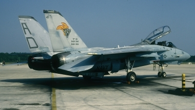 Photo ID 70765 by David F. Brown. USA Navy Grumman F 14A Tomcat, 160379