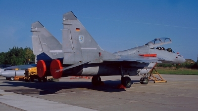 Photo ID 70910 by Stephan Sarich. Germany Air Force Mikoyan Gurevich MiG 29UB 9 51, 29 25
