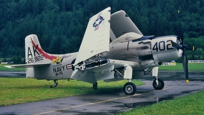 Photo ID 71352 by Martin Thoeni - Powerplanes. Private Private Douglas A 1D Skyraider AD 4NA, G RADR