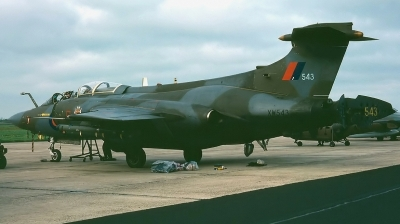 Photo ID 71665 by Arie van Groen. UK Air Force Blackburn Buccaneer S 2B, XW543